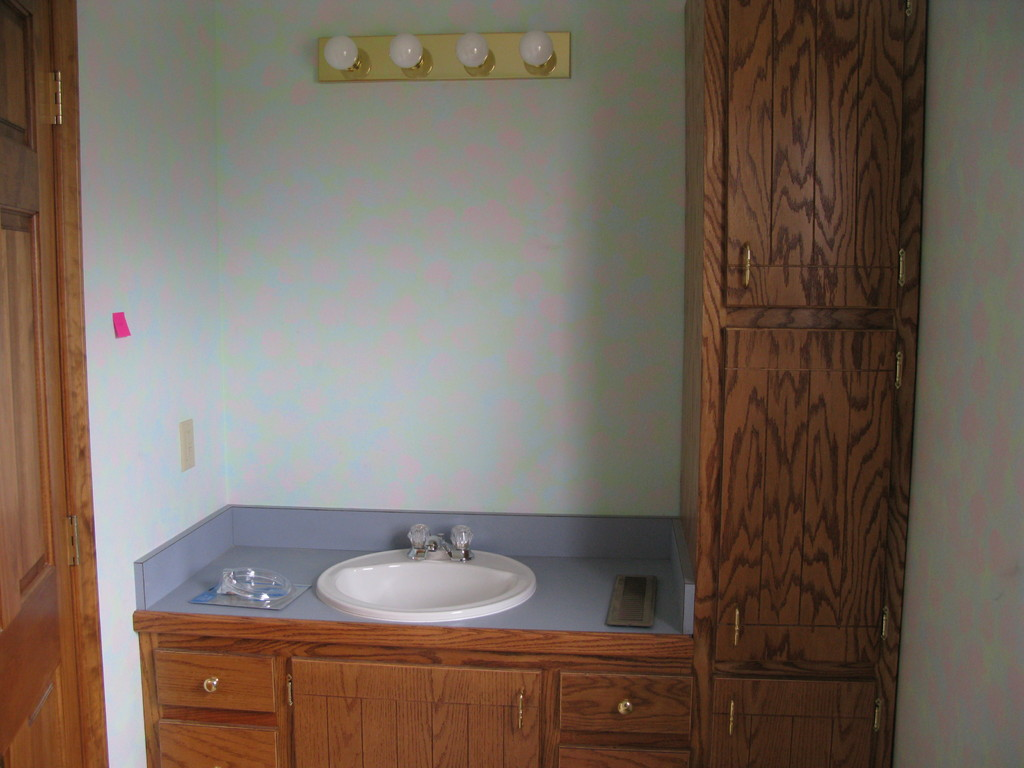 farmhouse, complete remodel - bathroom