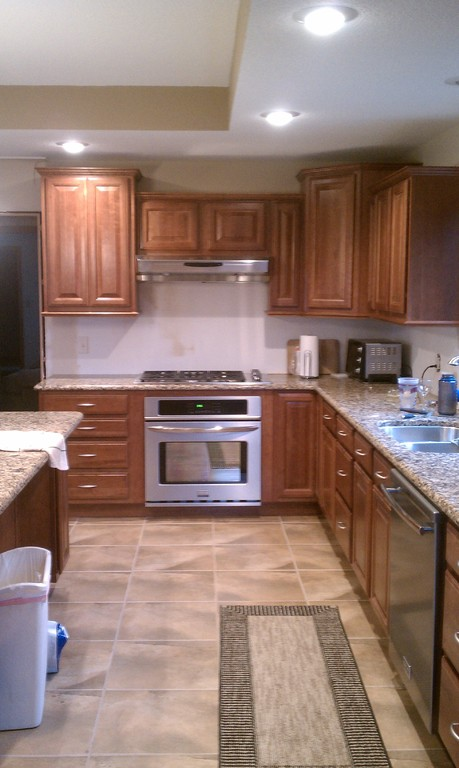 kitchen remodel - finished