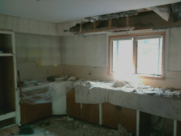 kitchen remodel - demo