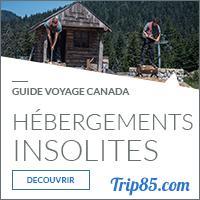 Guide hébergements insolites au Canada