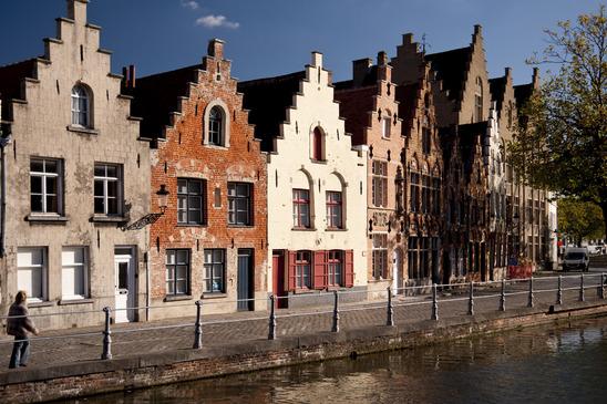 Architecture typique de Bruges -  - Source : Photodune - Auteur : 3quarks