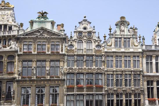Architecture typique de Bruxelles - Source : Photodune - Auteur : Gooddenka