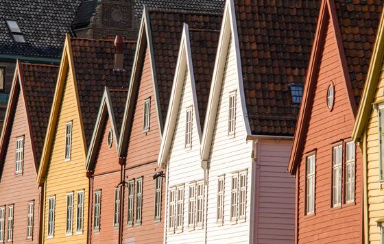 Le Port de Bryggen est splendide et classé au patrimoine mondial de l'UNESCO - Source : PhotoDune - rrrneumi