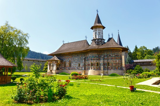 Le Monastère de Sucevita en Roumanie - wujekspeed - Photodune