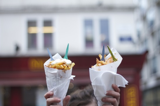 Manger des frites à Bruxelles ! Un classique incontournables ! Source : Photodune - Auteur : La_babineau