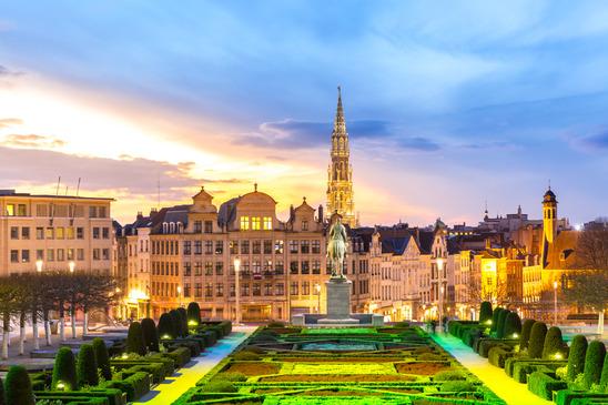 Vue sur Bruxelles ! - Source : Photodune - Auteur : vichie81