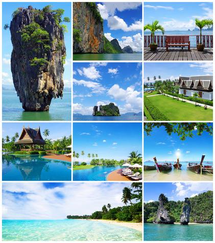 Méli-Mélo de photos en Thaïlande!
