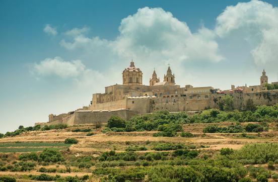 Vue sur Mdina ! Ville magnifique à ne pas manquer lors d'un voyage à Malte - Source : Photodune - Auteur : tan4ikk