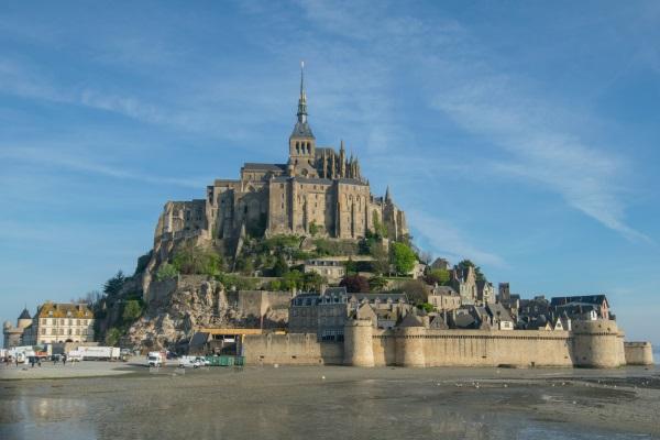 La baie du Mont Saint-Michel - Crédit Photo : Trip85.com