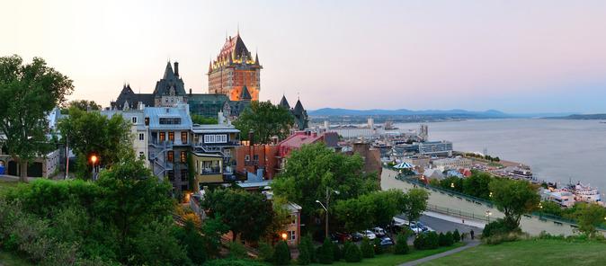 Vue sur la ville de Québec - Source : Photodune - Auteur : rabbit75_pho
