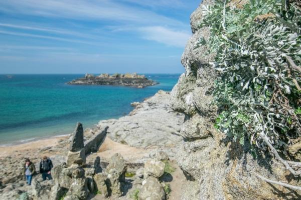 Les rochers scupltés de Rothéneuf à Saint-Malo - Crédit Photo : Trip85.com