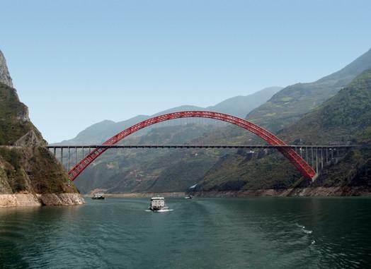 Les Trois Gorges sur le fleuve Yangtze, Chine