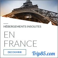 Notre sélection des hébergements insolites en France