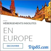 Notre sélection des hébergements insolites en Europe