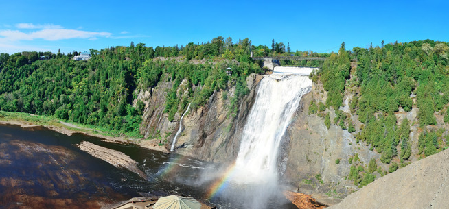 Les chutes de Montmorency - Source : Photodune - Auteur : rabbit75_pho