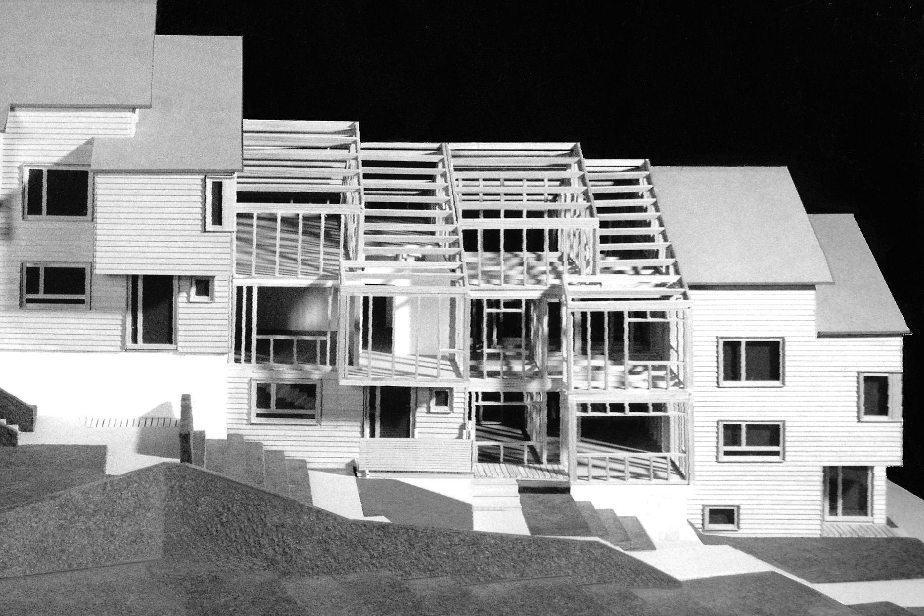neuartige Holzrahmenkonstruktion