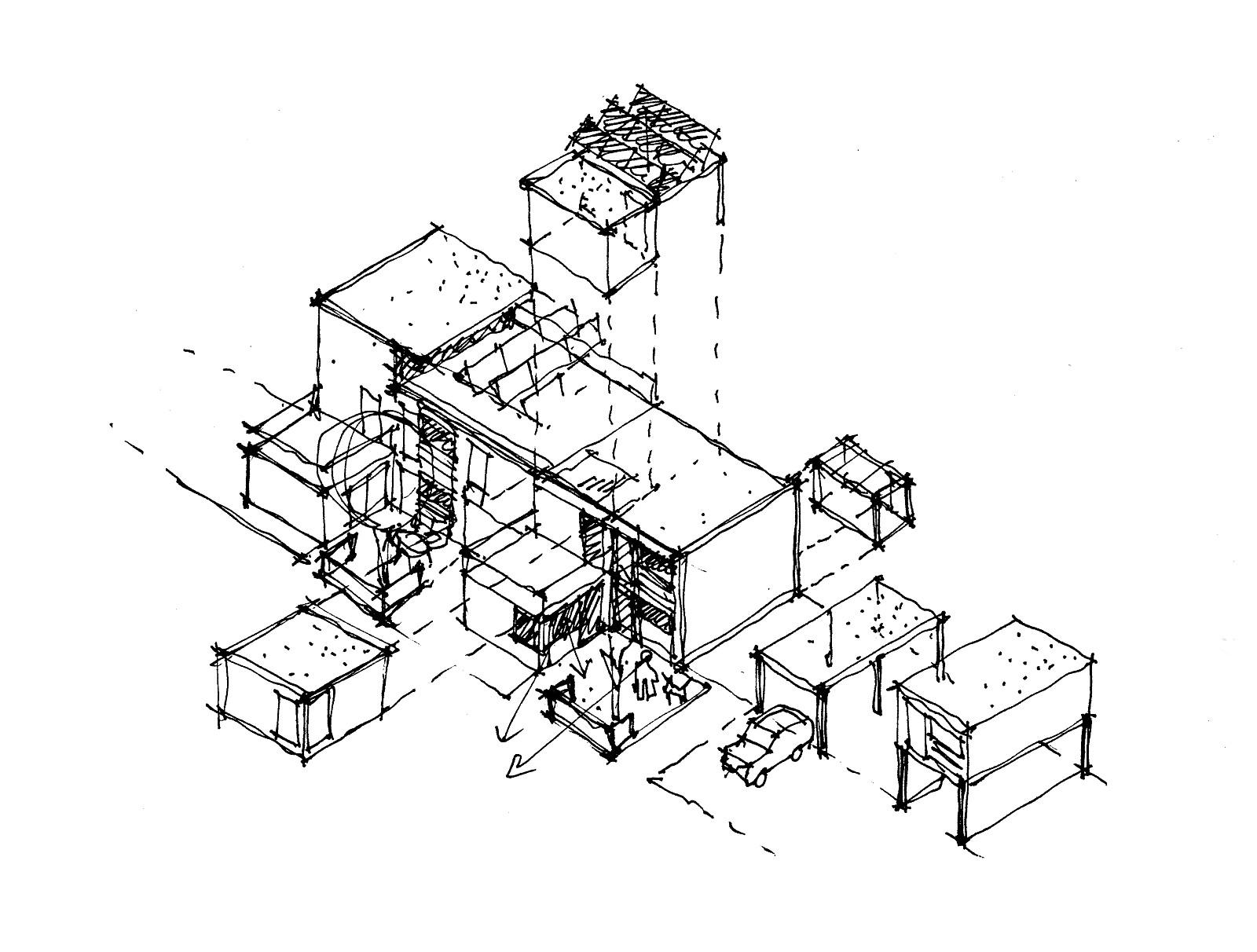 Modulare Photovoltaik und Anbauten, Ulm 2000
