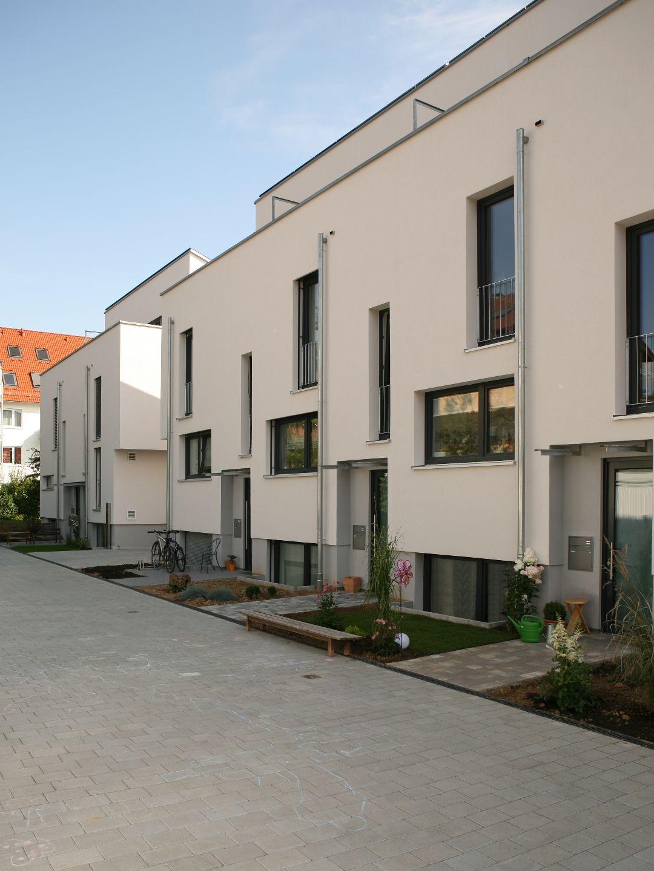 Shared Space für Bewohner und Fahrzeuge