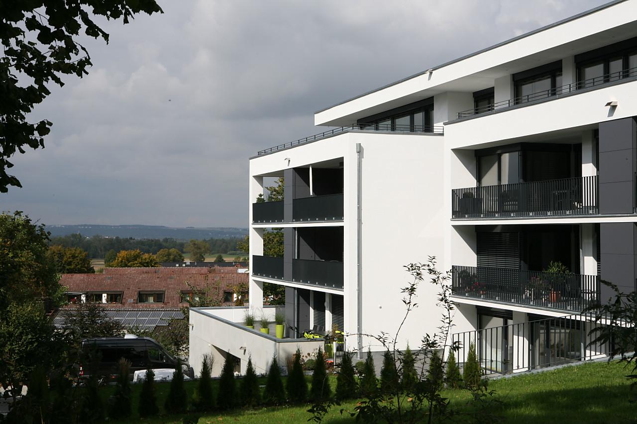 Aussichtslage am Rande von Neu-Ulm