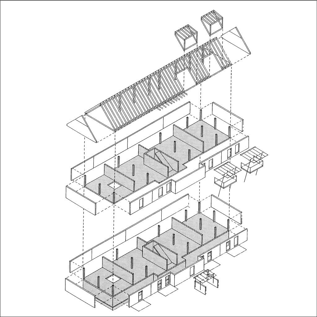 offene Primärstruktur, Ausbauflexibilität, vielfältiges Wohnungsangebot