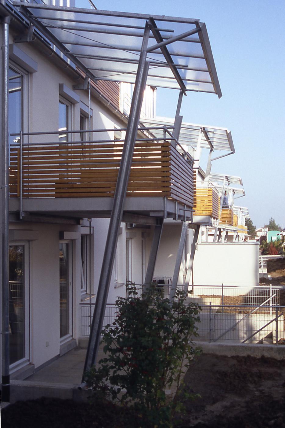 Wärmebrücken vermieden: thermisch getrennte Balkone