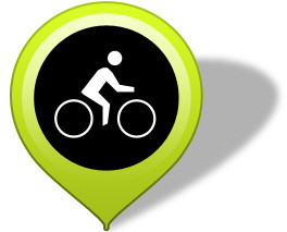 Gehen Sie auf diesen Button und schon sind Sie im Rad-Wege-Netz und können bequem Ihre Tour zu uns planen.