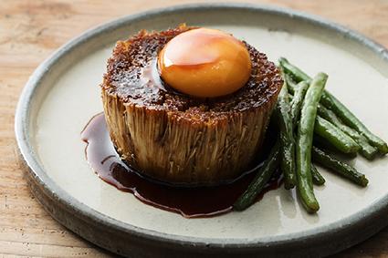 えのきステーキ調理イメージ