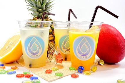 生炭酸ジュース