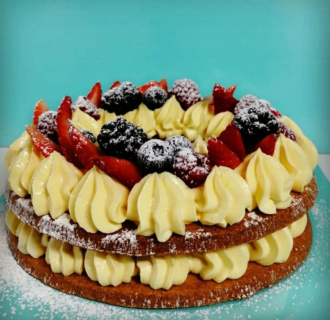 tart-cake chantilly