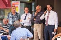 Die Liberalen Vertreter aus der Euregio sind sich einig bei der Ablehnung der Mautpläne der Großen Koalition. (Bild Kathrin Wallraf)