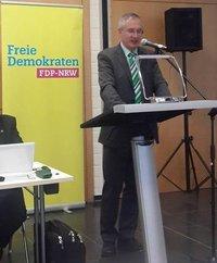 Peter Rauw, Kreisvorsitzender und Mitglied im Polizeibeirat Euskirchen