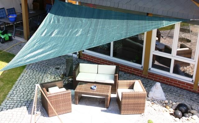 sonnenschutzsegel dreieck. Black Bedroom Furniture Sets. Home Design Ideas