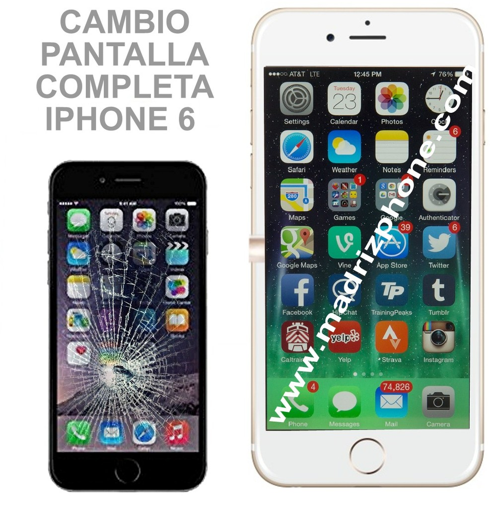 3aa8ad75a4d REPARACIÓN EXPRESS IPHONE 6 / 6 Plus en MADRID - Servicio Tecnico ...