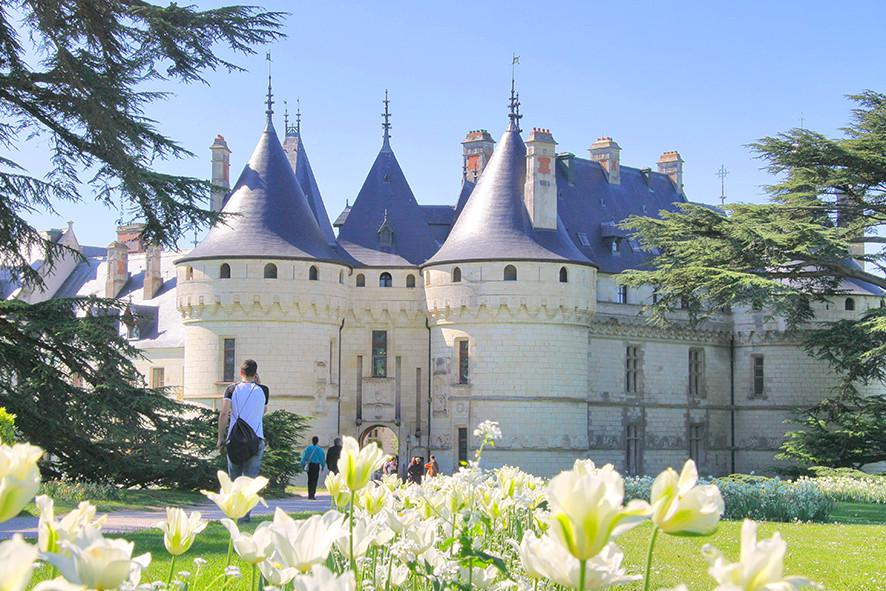 Camping Sites & Paysages  Les Saules à Cheverny - Loire Valley - Découverte du château de Chaumont-sur-Loire et de ses jardins