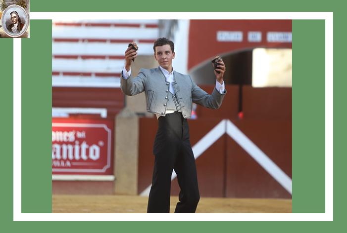 Alex Mariscal, rotundo triunfador con dos orejas en la IV selección de las becerradas celebrada en Sanlúcar de Barrameda
