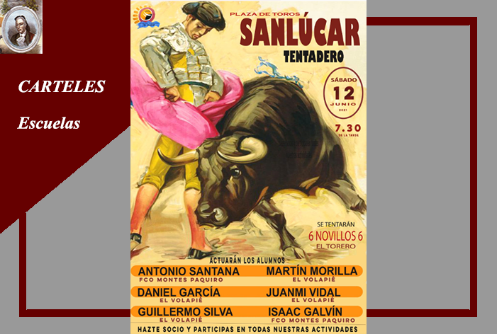 Sanlúcar de Barrameda celebrará un 'Tentadero Público' organizado por la Escuela de Tauromaquia 'El Volapie'