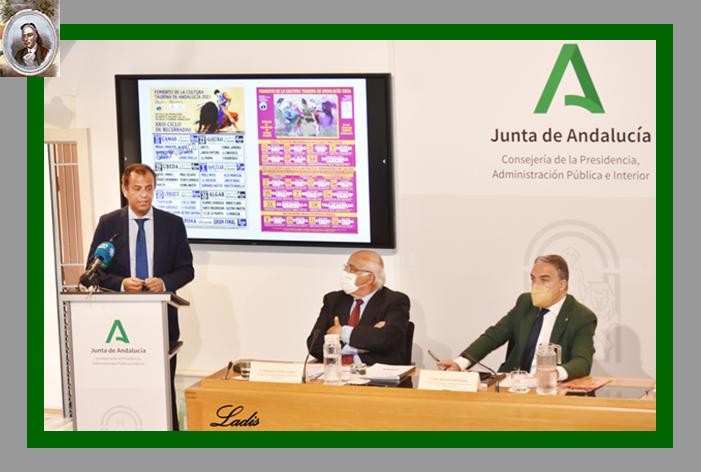 La A.A.E.T. 'Pedro Romero' ha presentado el 'XXVII Ciclo de Novilladas sin Picadores en Clase Práctica retransmitidas por Canal Sur TV'