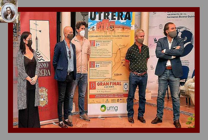 La Asociación Cultural Taurina 'Curro Guillén' que ampara a la Escuela de Utrera, presentó el I Certamen de Tentaderos 'Cuna del Toro Bravo'
