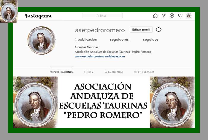 La A.A.E.T. 'Pedro Romero' estrena perfil en la red social Instagram