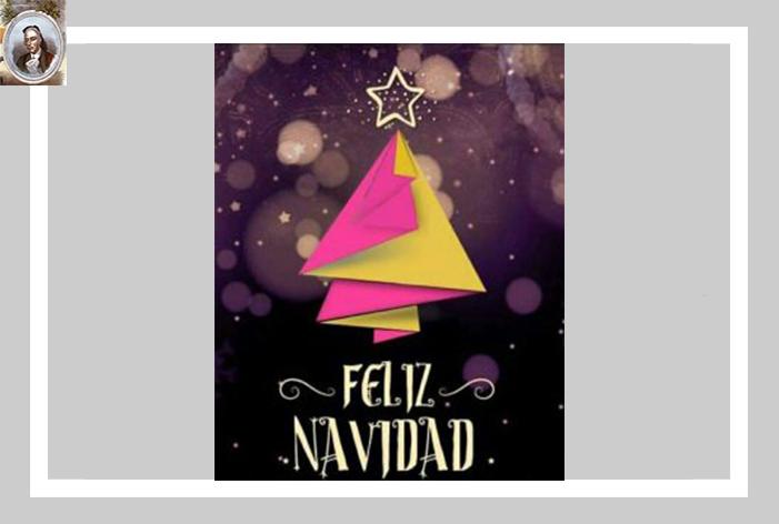 Feliz Navidad y Próspero Año Nuevo 2021