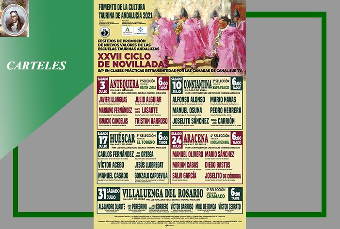 Definidos los 'cinco carteles clasificatorios' del XXVII Ciclo de Novilladas de Canal Sur TV