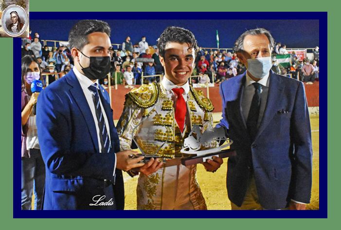 """Víctor Cerrato, """"Triunfador"""" de la IX Competición Provincial de las Escuelas Taurinas de Cádiz 2021"""