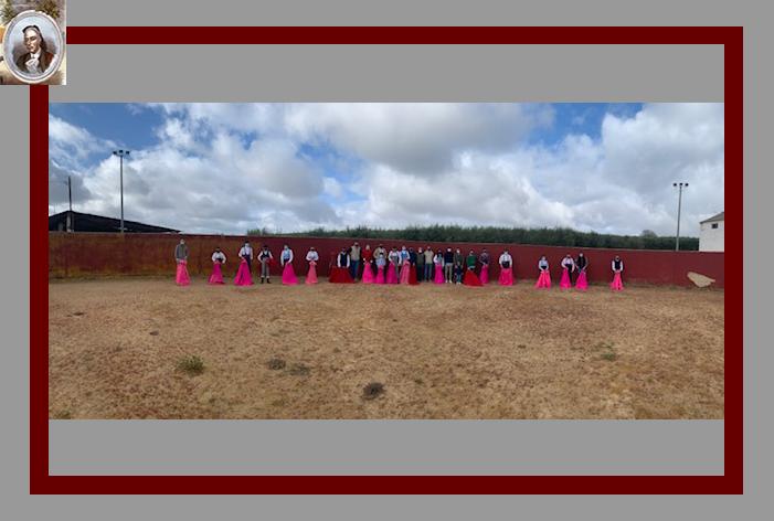 La Escuela Cultural de Tauromaquia de Ronda alcanza su cuarto tentadero en la ganadería de Los Palacios