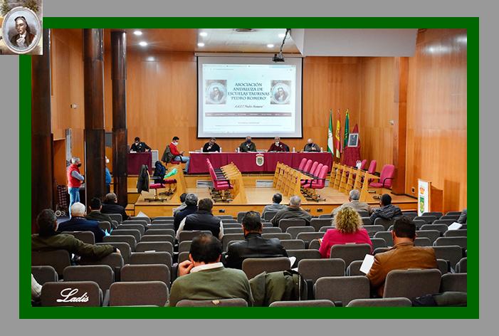 La A.A.E.T. 'Pedro Romero' cierra con éxito su Asamblea General
