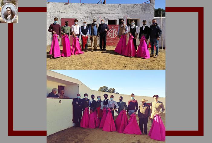 La Escuela Taurina de Ubrique inicia un nuevo curso y visita las ganaderías de Gonzalo Oliete y Prieto de Cal