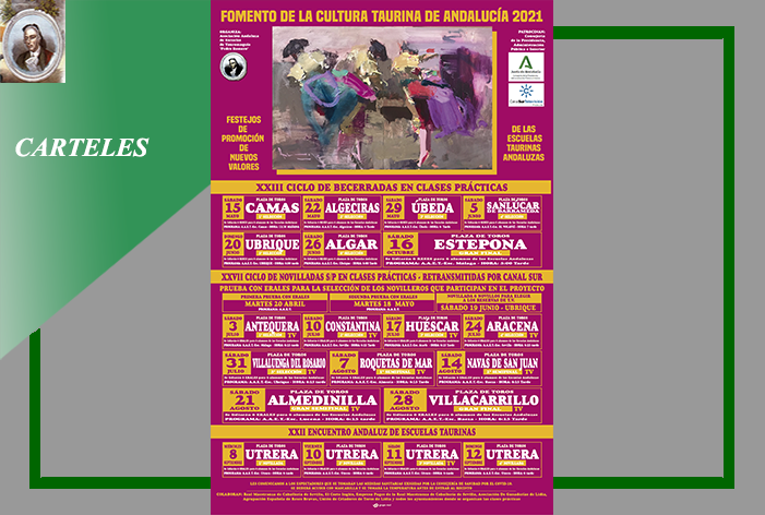 La Asociación Andaluza de Escuelas Taurinas 'Pedro Romero' ha presentado el 'Cartel' del XXVII Ciclo de Novilladas retransmitidas por Canal Sur TV