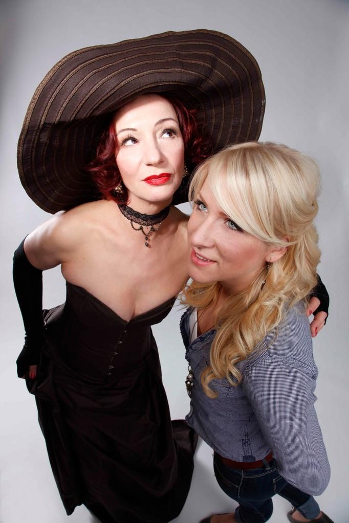Shooting mit Modell Lena Braun und Fotografin Fin Porzner