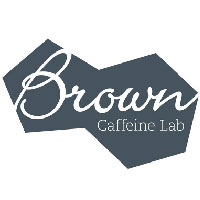 brown caffeine lab, brown cafe, brown caffeine lab logo, brown caffeine lab logotipo, cafes en la roma, brown cafe logo