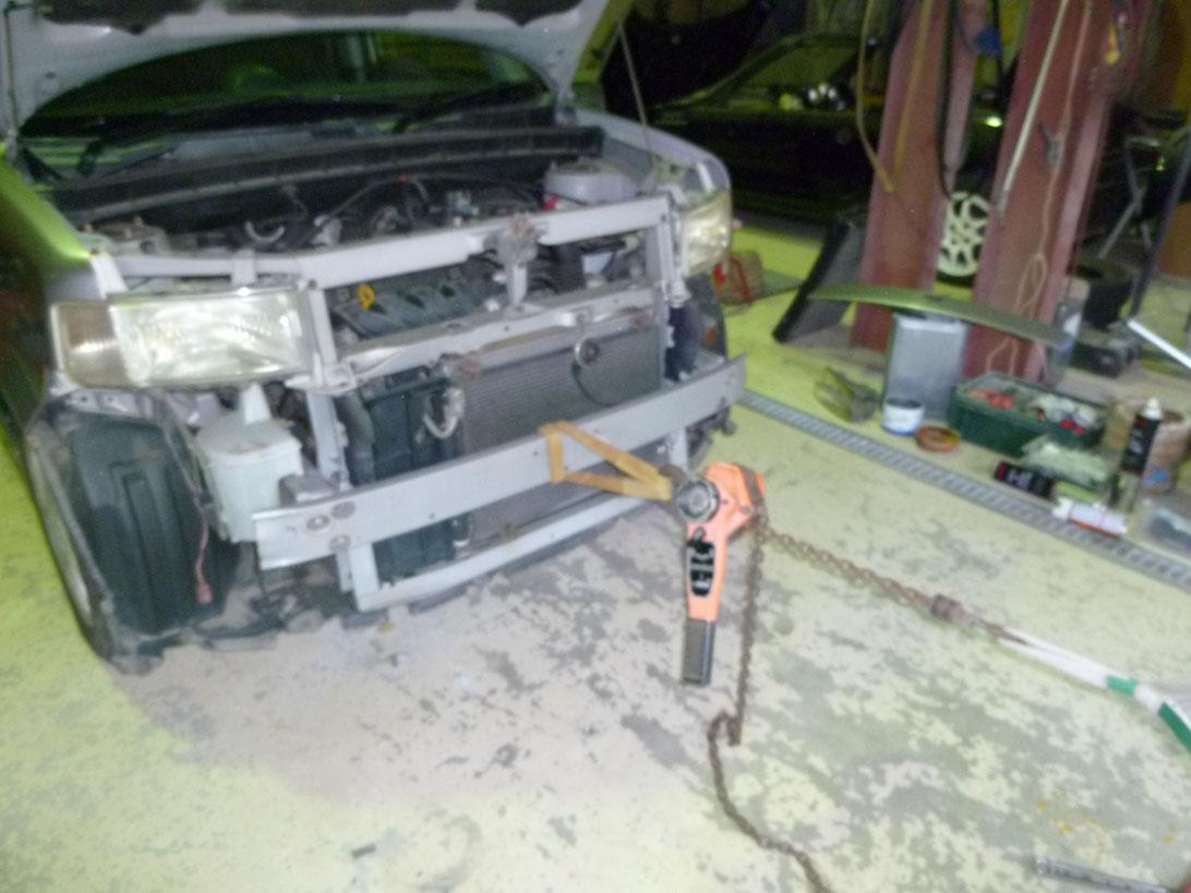フロントサポート類修理