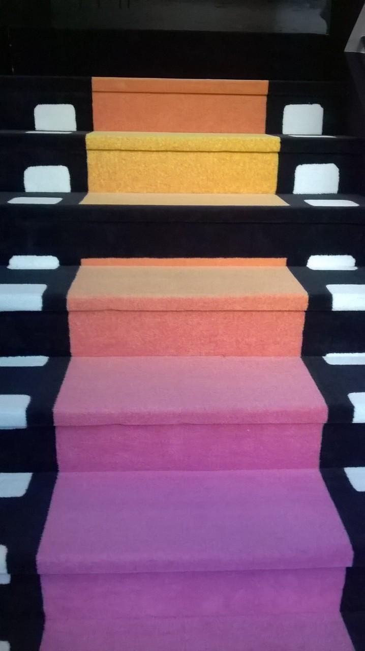 Pose sols personnalisables et multicolores